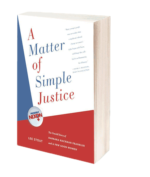 Book cover for A Matter of Simple Justice