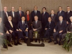 Dow Board of Directors, 1982