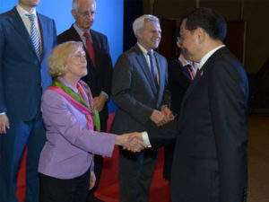 BOAO Forum with Premier Li Keqiang, 2014