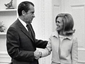 Serving President Richard M. Nixon, 1971