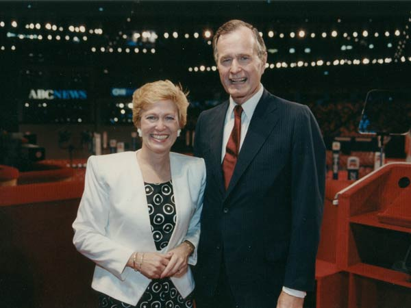 Houston GOP Convention with President George H.W. Bush, 1988